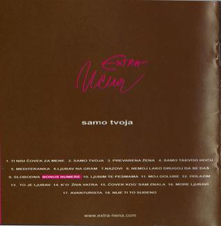 Extra Nena ( Snezana Beric ) - Diskografija  R-553411