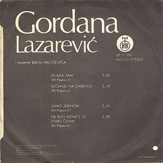 Gordana Lazarevic - Diskografija R-568911