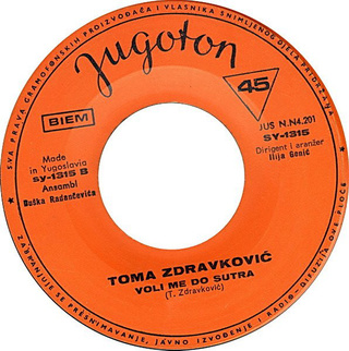 Toma Zdravkovic - Diskografija R-572717