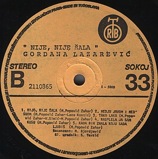 Gordana Lazarevic - Diskografija R-576113