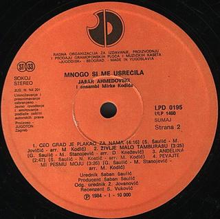 Jasar Ahmedovski - Diskografija R-576316