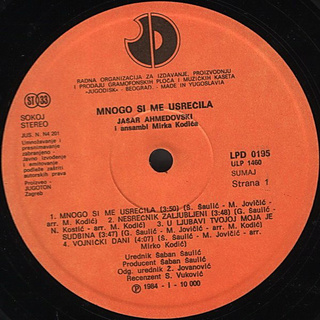 Jasar Ahmedovski - Diskografija R-576317
