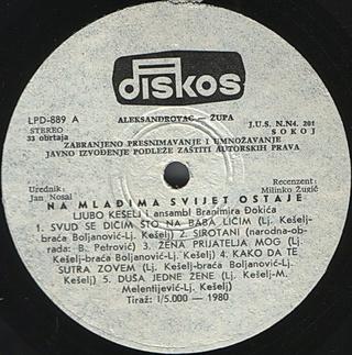 Ljubo Keselj - Diskografija R-576320