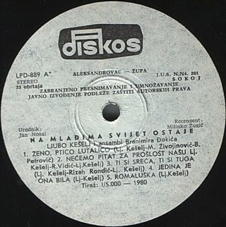 Ljubo Keselj - Diskografija R-576321