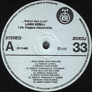 Ljubo Keselj - Diskografija R-576416
