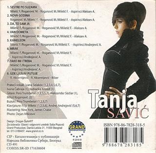 Tanja Savic - Diskografija  R-577414