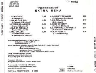 Extra Nena ( Snezana Beric ) - Diskografija  R-585414
