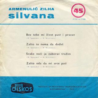 Silvana Armenulic - Diskografija  R-610112