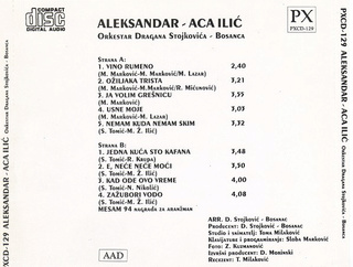 Aleksandar Aca Ilic - Diskografija  R-610810