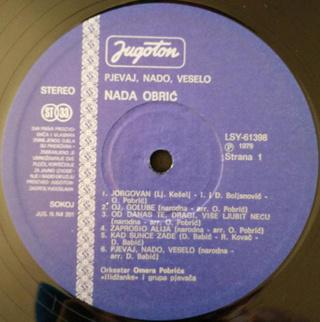 Nada Obric - Diskografija  R-627710