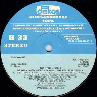 Dragan Kojic Keba - Diskografija R-630716