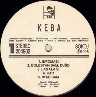 Dragan Kojic Keba - Diskografija R-630720