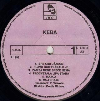 Dragan Kojic Keba - Diskografija R-631010