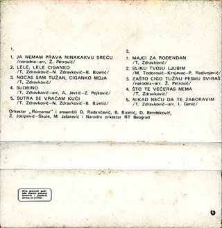 Toma Zdravkovic - Diskografija R-632523
