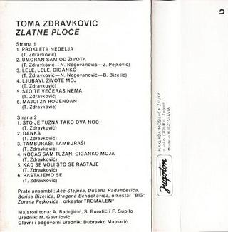 Toma Zdravkovic - Diskografija R-632817