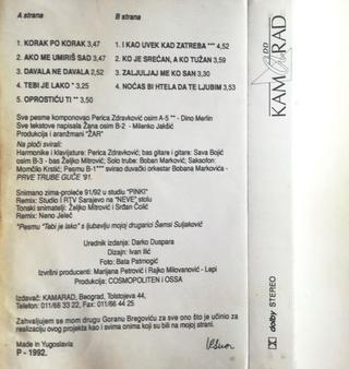 Vesna Zmijanac - Diskografija R-654124