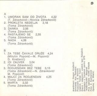 Toma Zdravkovic - Diskografija R-654612