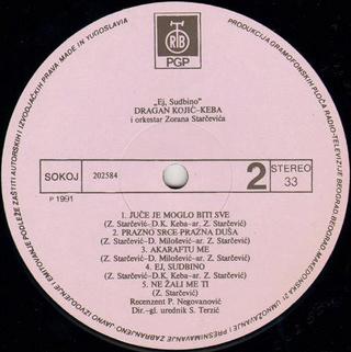Dragan Kojic Keba - Diskografija R-661218