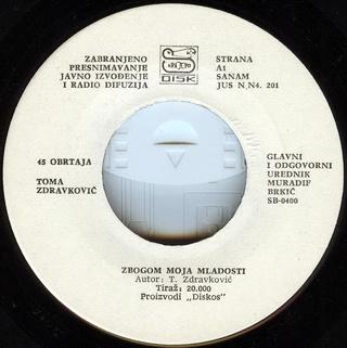 Toma Zdravkovic - Diskografija R-661512