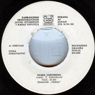Toma Zdravkovic - Diskografija R-661513