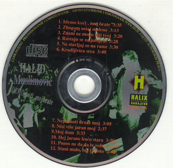 Halid Muslimovic - Diskografija R-662211