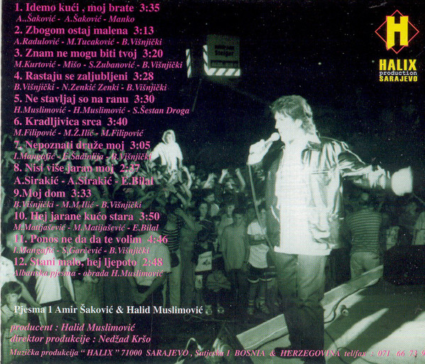 Halid Muslimovic - Diskografija R-662212