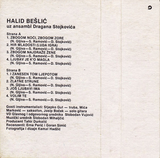 Halid Beslic - Diskografija R-662312