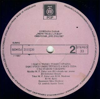 Gordana Lazarevic - Diskografija R-668811