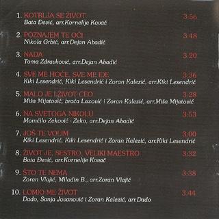 Zoran Kalezic - Diskografija R-669311