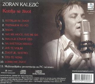 Zoran Kalezic - Diskografija R-669312