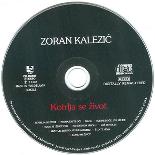 Zoran Kalezic - Diskografija R-669313