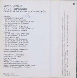 Nada Topcagic - Diskografija R-677213