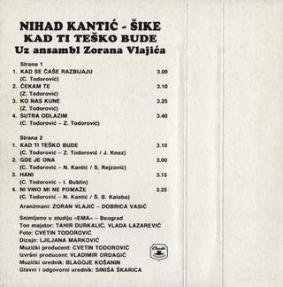 Nihad Kantic Sike - Diskografija  R-677911