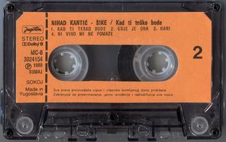 Nihad Kantic Sike - Diskografija  R-677913