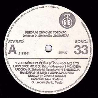 Predrag Zivkovic Tozovac - Diskografija R-679611