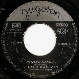 Zoran Kalezic - Diskografija R-687710