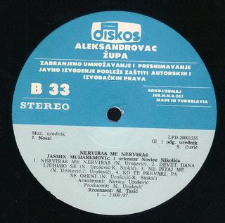Jasmin Muharemovic - Diskografija R-695512