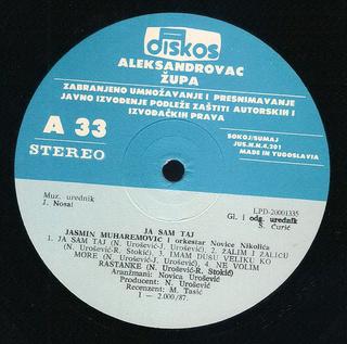Jasmin Muharemovic - Diskografija R-695513