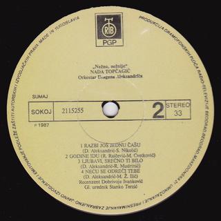Nada Topcagic - Diskografija R-699311