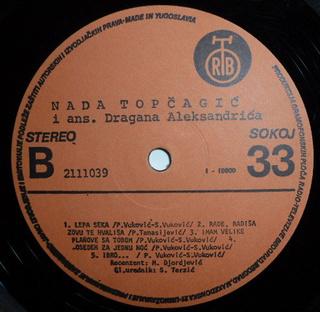 Nada Topcagic - Diskografija R-700911