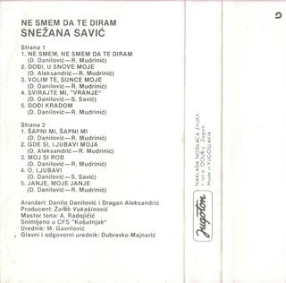 Snezana Savic - Diskografija R-707115