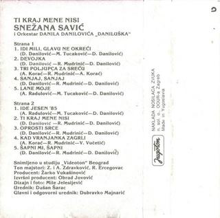 Snezana Savic - Diskografija R-707117