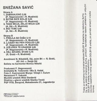 Snezana Savic - Diskografija R-707123