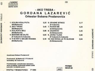 Gordana Lazarevic - Diskografija R-708011
