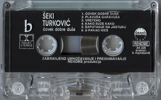 Seki Turkovic - Diskografija R-720213