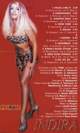 Indira Radic - Diskografija R-720513
