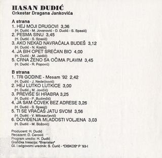 Hasan Dudic - Diskografija R-724026