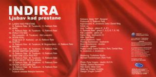 Indira Radic - Diskografija R-729211