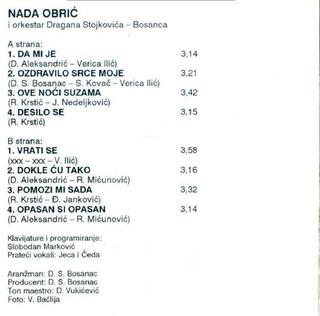 Nada Obric - Diskografija  - Page 2 R-729412