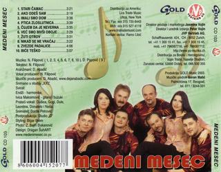 Medeni Mesec - Diskografija R-734812